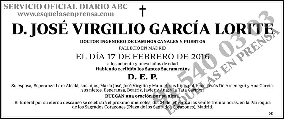 José Virgilio García Lorite